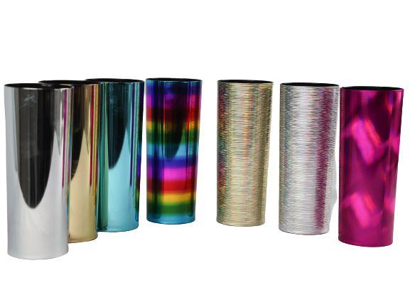 Copo Long Drink Metalizado e Holográfico - 350 ML
