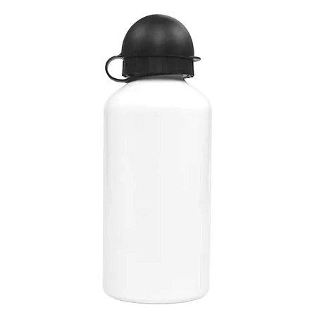 Squeeze Alumínio Branco Bico Bolinha - 500ml
