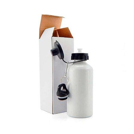 Squeeze Alumínio Branco 2 Bicos - 500ml