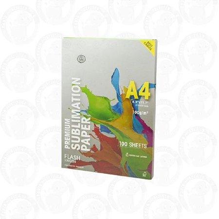 Papel Sublimático Premium A4 Globinho - 100 Fls