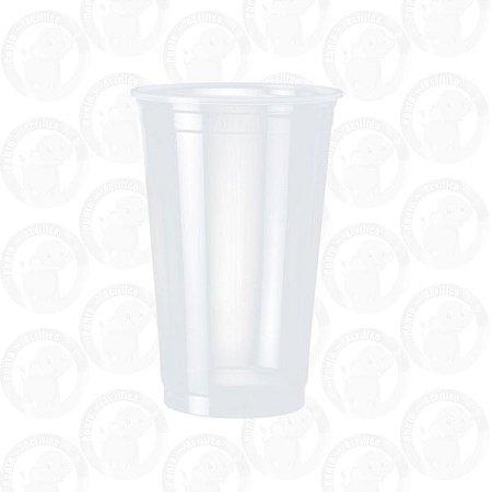 Copo Descartável Plástico Adega - 700 ML Pct C/ 100 UND