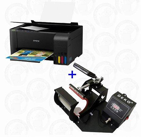 Impressora Epson L3150 + Prensa De Caneca Deko + (BRINDE)
