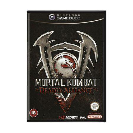 Jogo Nintendo Gamecube Mortal Kombat Deadly Alliance - Midway