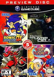 Jogo Nintendo GameCube Preview Disc 5 Jogos - Nintendo