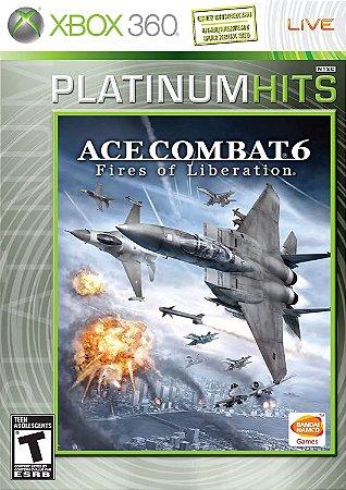 Usado Jogo Xbox 360 Ace Combat 6 Fires Of Liberation - Bandai Namco