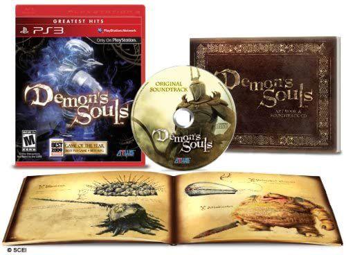 Usado Jogo PS3 Demon's Souls + Artbook + Sound Track - Atlus