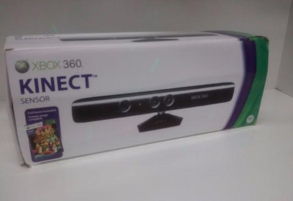 Sensor Kinect para Xbox 360 com jogo Adventures! | Na Caixa - Microsoft