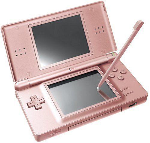 Usado Console Nintendo DS Lite Metallic Rose - Nintendo