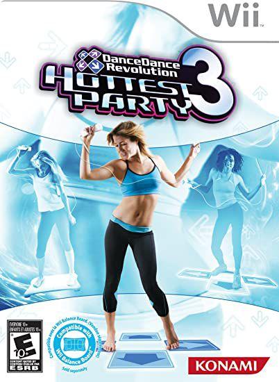 Jogo Nintendo Wii DanceDance Revolution Hottest Party 3 com Tapete - Konami