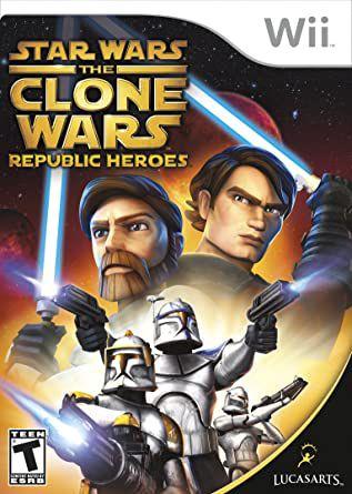 Jogo Nintendo Wii Star Wars The Clone Wars Republic Heroes- LUCASARTS