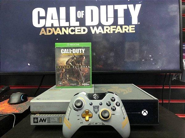 Usado Console Xbox One FAT 500Gb edição Cod AW, Kinect, 4 jogos - Microsoft