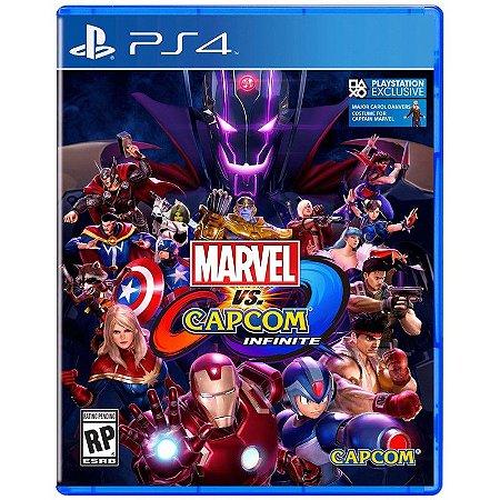 Jogo PS4 Marvel vs Capcom Infinite - Capcom