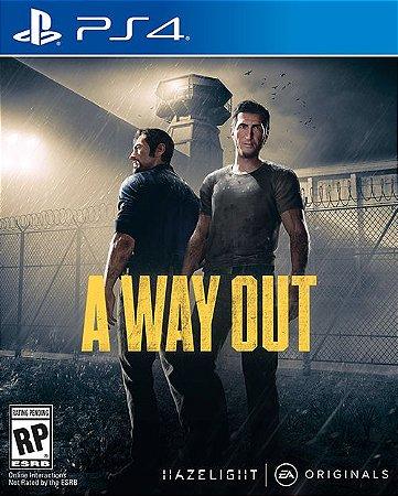 Jogo Ps4 A Way Out - EA
