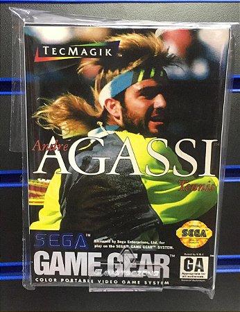 Jogo Game Gear Andre Agassi Tennis - Sega