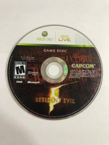 Jogo Xbox 360 Resident Evil 5 Loose - Capcom