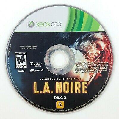 Jogo Xbox 360 L.A. Noire (Loose) - Rockstar