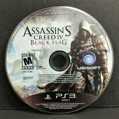 Jogo PS3 Assassins Creed 4 Black Flag (Loose) - Ubisoft