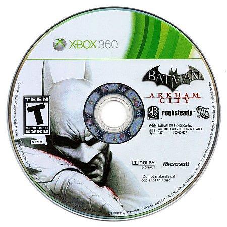 Jogo Xbox 360 Batman Arkham City (Loose) - WB Games