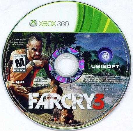 Jogo Xbox 360 Far Cry 3 (Loose) - Ubisoft