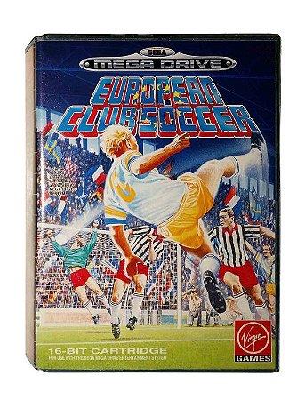 Jogo Mega Drive European Club Soccer - Virgin