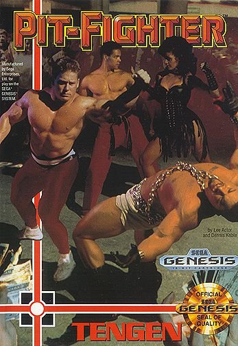 Jogo Mega Drive Pit Fighter - Na Caixa - Sega