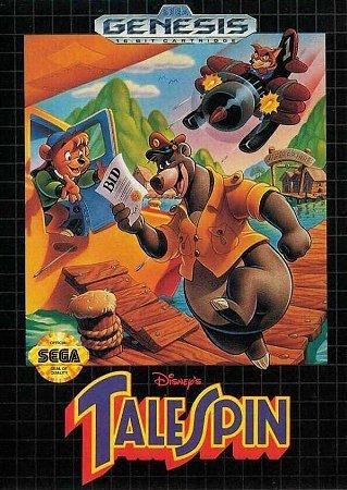 Jogo Mega Drive Disney Tale Spin - Disney