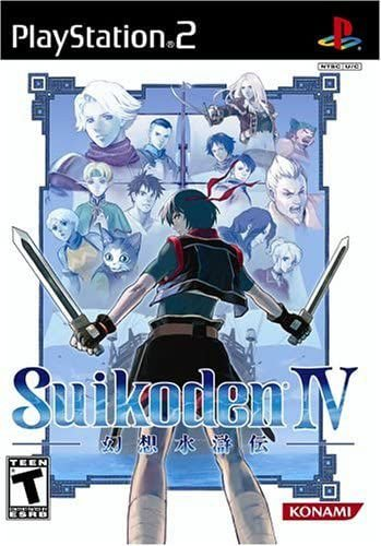 Jogo PS2 Suikoden IV - Konami