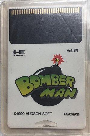 Jogo PC Engine Bomberman HuCard Japonês - Hudson Soft