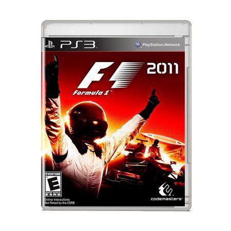 Jogo PS3 F1 2011 - Codemasters