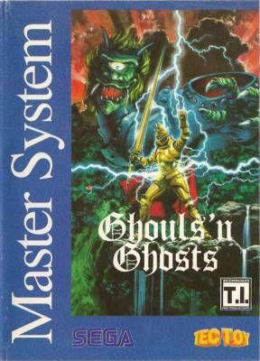 Jogo Master System Ghouls 'n Ghosts - Na Caixa - Nintendo