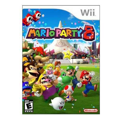 Jogo Nintendo Wii Mario Party 8 - Nintendo