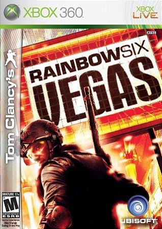 Jogo Xbox 360 Tom Clancy's Rainbow Six Vegas - Ubisoft