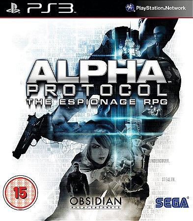 Jogo PS3 Alpha Protocol - Sega