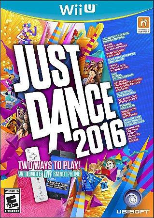 Jogo Wii U Just Dance 2016 - Ubisoft