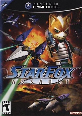 Jogo Nintendo GameCube Star Fox Assalt - Nintendo