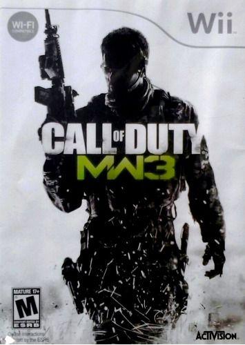 Jogo Nintendo Wii Call of Duty Modern Warfare 3 MW3 - Activision