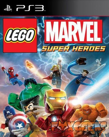Jogo PS3 Lego Marvel's Super Heroes - Warner Bros Games