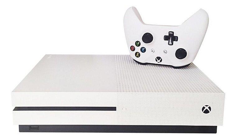 Console Xbox One S Branco 500 GB  com Controle  - Microsoft