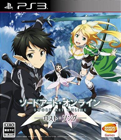 Jogo PS3 Sword Art Online: Lost Song (Japones)- Bandai Namco