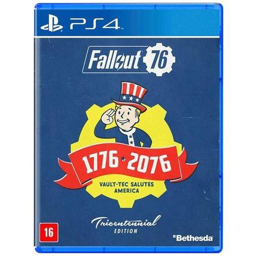 Jogo PS4 Fallout 76 - Bethesda