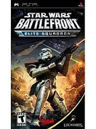 Jogo PSP Star Wars Battlefront Elite Squadron - Lucasarts