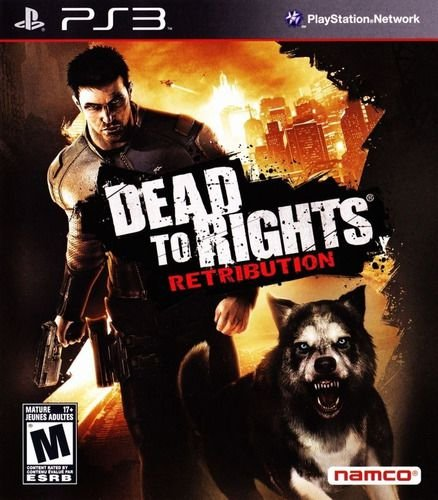 Jogo PS3 Dead to Rights: Retibution - Namco