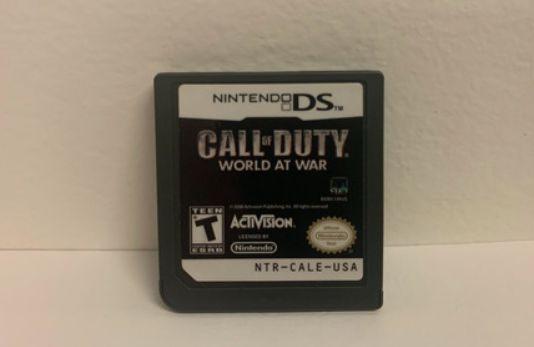 Jogo Nintendo DS Call of Duty World at War - Activision