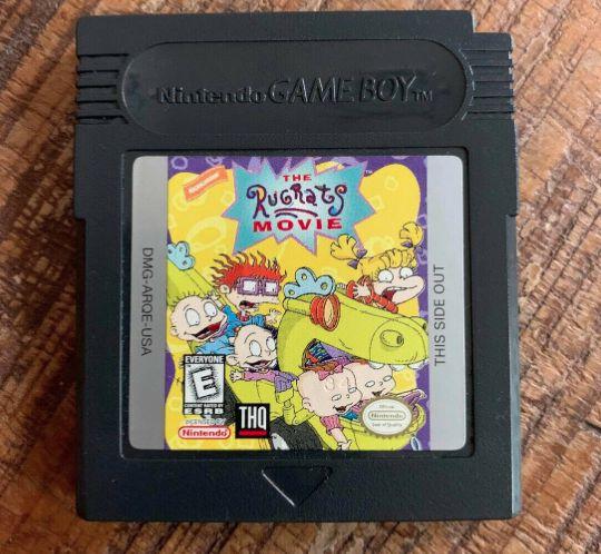 Jogo Game Boy The Rugrats Movie - THQ