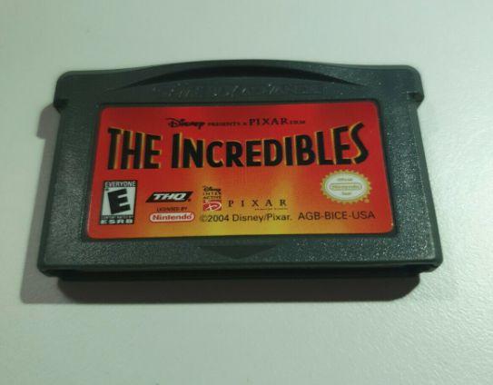 Jogo Game Boy Advance Disney The Incredibles - THQ