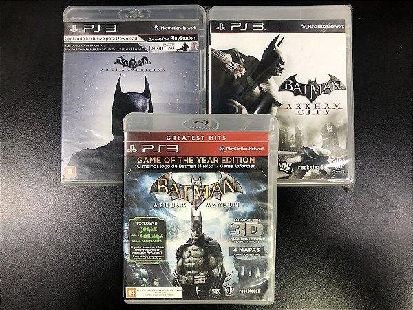 Kit Batman (3 jogos do Batman)  - WB Games