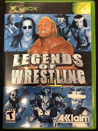 Jogo Xbox Classico Legends of Wrestling - Acclaim