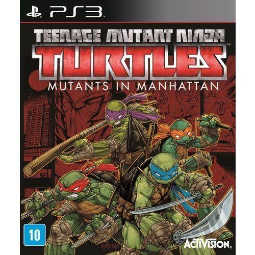 Jogo PS3 Teenage Mutant Ninja Turtles: Mutants in Manhattan - Activision