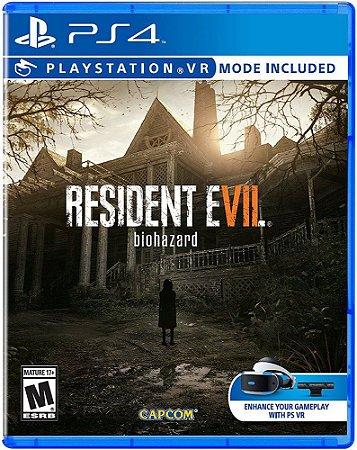 Jogo PS4 Resident Evil 7 Bio Hazard VII Compativel com PlayStation VR - Capcom