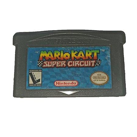 Jogo Nintendo Game Boy Advance GBA Mario Kart Super Circuit - Nintendo